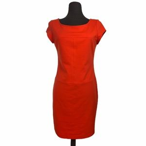 Banana Republic Coral Orange Dress